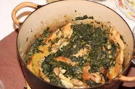 cuisiner le tendron de veau viandes tendrons de veau aux épinards brik a brak de marsu