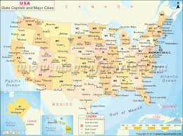 united states map with states and capitals and major cities and us map state capitals major cities world maps