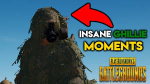 pubg ghillie suit pubg most insane ghillie suit moments ever playerunknown s