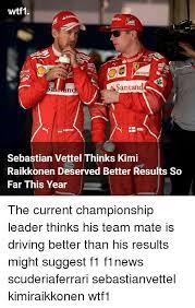 Sebastian Vettel Meme - 25 best memes about kimi raikkonen kimi raikkonen memes