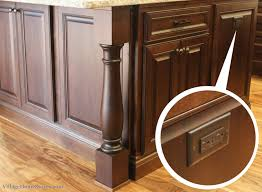 kitchen island outlet an outlet is perfectly camoflauged on the end of a kitchen