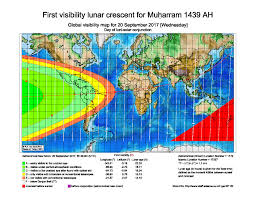 United States Of Islam Map by Monthly Moon Sighting U0026 Islamic Months Acts Of Worship Fiqh
