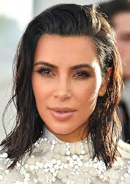 no fuss lob haircut kim kardashian lob haircut 2017 stylecaster