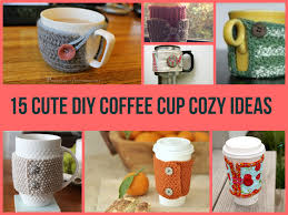 Best Homemade Christmas Gifts by Cute Diy Coffee Cup Cozy Ideas