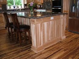 hickory kitchen island hickory wood kitchen cabinets