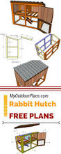 How To Build A Rabbit Hutch And Run Best 25 Bunny Hutch Ideas On Pinterest Outdoor Rabbit Hutch
