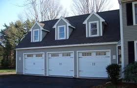 Glass Overhead Garage Doors C H I Overhead Doors Model 5216 Steel Carriage House Style Garage