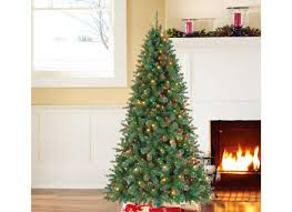 10 ft dunhill fir artificial tree with 1200 clear fia uimp