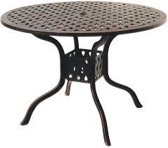 42 Patio Table Patio Furniture Dining Set Cast Aluminum 42 Or 48 Dining