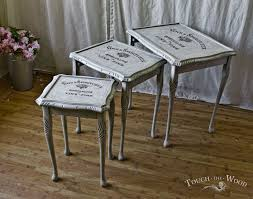 Shabby Chic Table by Shabby Chic Nest Of Tables No 15 On Sale Touch The Wood