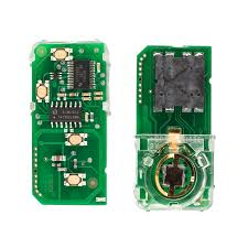 toyota number card board 4buttons 314 3mhz number 271451 5290 usa for toyota