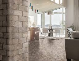 Portstone Brick Flooring by Brick Look Tiles Canada Style Selections Natural Timber Ash Wood