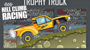 hill climb racing monster truck hill climb racing new trophy truck vehicle new map arena max
