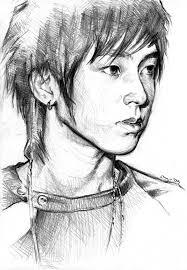 photo sketch yunho sketch ii by emenemsbis on deviantart