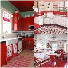 Orange Kitchens by Taste The Rainbow Vintage Kitchens Of Every Shade Big Chill