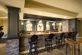 bar amazing rustic basement bar 15 rustic kitchen design photos