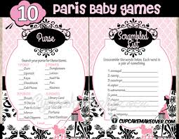parisian baby shower baby shower package instant cupcakemakeover