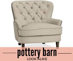Pottery Barn Kids Chair Knock Off Pottery Barn Look Alike Cardiff Tufted Upholstered Chair 69 Off