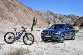 pair your 2018 bmw x3 with this new matching e bike bmw
