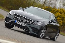 mercedes benz e 300 coupe amg line 2017 review autocar