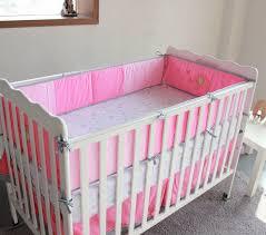 Cot Bumper Sets New 7 Pcs Baby Bedding Set Baby Crib Bedding Sets Bird Cartoon