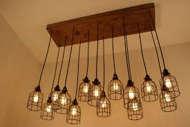Hanging Industrial Lights by Newhouse Lighting Metal Lamp Guard For Pendant String Lights And