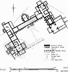 Ancient Roman Villa Floor Plan by Great Witcombe British History Online