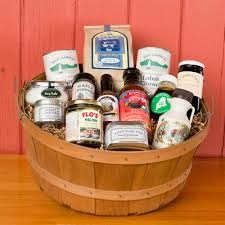 maine gift baskets shop wallingford farm on line