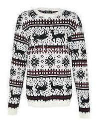 reindeer sweater ebay
