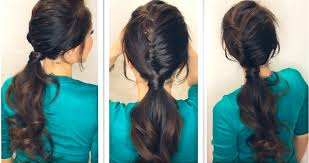 diving hairstyles hairstyle tutorial how to create a half french fishtail braid