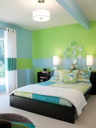 Blue Green Bedroom Interior Design