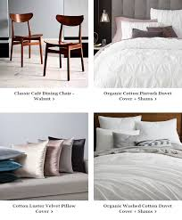 Organic Cotton Pintuck Duvet Cover Shams West Elm Wednesdays Are For Mywestelm Are You Featured Milled