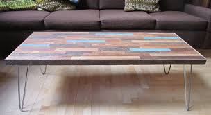 Hairpin Legs Coffee Table Reclaimed Coffee Table On Hairpin Legs Hairpin Legs Coffee And