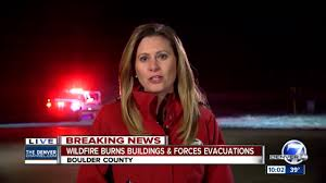 Wildfire Colorado News by Buildings Burn In Boulder County As Fires Spread In Colorado Youtube