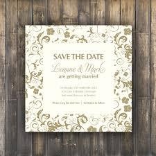 digital save the date save the date card digital printable blossom wedding range on