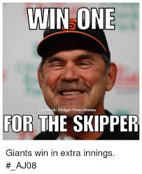 Hater Memes - win one facebook dodger hater memes for the skipper giants win in