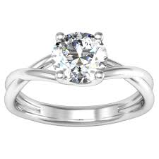 twisted shank engagement ring debebians jewelry favorite twisted shank engagement