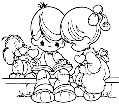 18 precious moments couples coloring pages valentine u0027s