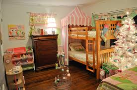 marvelous christmas kid bedroom decorations featuring natural wood