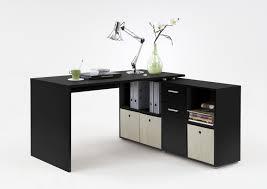 Schreibtisch Glasplatte Schreibtisch Misy Mit Glasplatte In Schwarz Wohnen De For