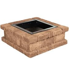 Firepit Kits by Red Tree Ring Outdoor Living Kits Hardscapes The Home Depot