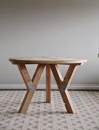 circle table that gets bigger y truss round table ana white easy diy projects furniture plans
