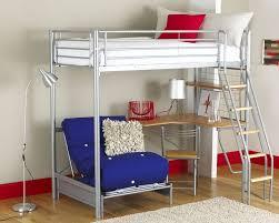 full size metal loft bed decor creative full size metal loft bed