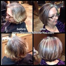 hair lowlights for women over 50 medium natural level 5 with 50 gray added level 6 natural ash