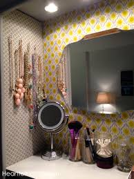 diy turn a bookcase into a vanity heartfelt by lauren