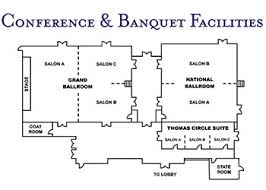 ballroom floor plan plan a washington dc hotel meeting washington plaza