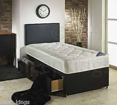 Single Divan Bed With Drawers And Mattress by 3ft Pace Single Divan Bed With Quilted Mattress Storage Option