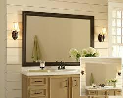 Custom Framed Bathroom Mirrors Bathroom Interior Mirror Custom Size Bathroom Frames Images