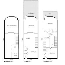 brownstone floor plans new york city fully renovated townhouse garden apartment in harlem harlem