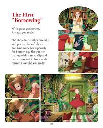 arrietty hair clip the secret world of arrietty picture book studio ghibli library
